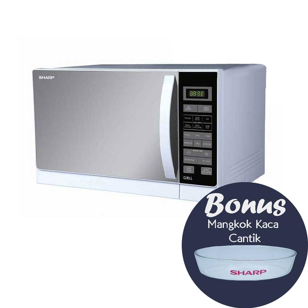 Sharp R728(W)IN – Microwave 25 Liter Grill 1000 Watt