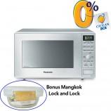 Harga Microwave Inverter Grill Panasonic 31 Liter NNGD692STTE cicilan dan Bonus Mangkok Lock and Lock