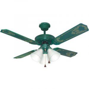 Harga Uchida Ceiling Fan 52 inch Hijau 3 Lampu CF125ECGR