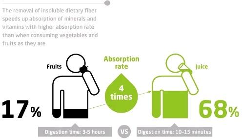 Penyerapan Vitamin Slow Juicer