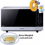 Harga Microwave Inverter Grill Panasonic 27L NNGF574MTTE cicilan dan bonus mangkok lock and lock