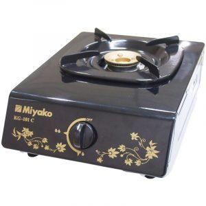 Harga Kompor Gas Miyako 1 Tungku KG101C tampak samping