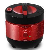 Harga Magic Com Yongma 1.3 Liter Black Tinum MC1350 merah