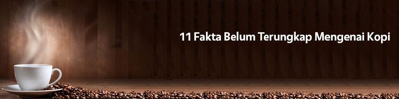 fakta mengenai kopi