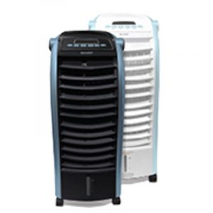 Harga Air Cooler Sharp PJA36TY black and white