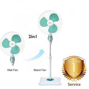 Harga Stand Fan Cosmos and Wall Fan 16in 16SWA garansi