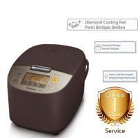 Harga Digital Rice Cooker 1.8L Panasonic SRZS185 detail garansi