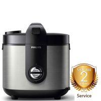 Harga Rice Cooker 2 Liter Philips Premium Plus Silver - HD-3128/33 garansi