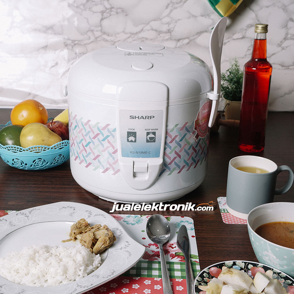 Sharp KSN18ME – Rice Cooker 1.8 Liter 3in1