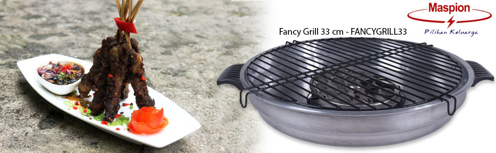 From The Manufacturer. Maspion Fancy Grill 33 cm ...