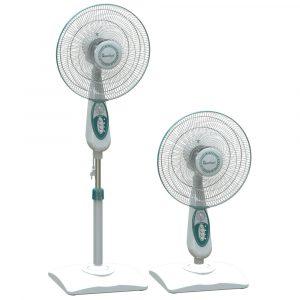 Harga Quantum Stand Fan 16 inch - QSF212PT desk fan dan stand fan