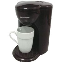 Harga Black And Decker Coffee Maker 1 Cup Small 330 Watt - DCM25-B1