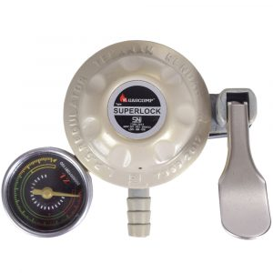 Harga Gascomp Regulator Meter Super Lock - GRS-01 tampak atas