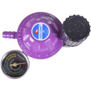 Harga GASCOMP Regulator Meter Super Lock Putar - GRS-02 tampak atas