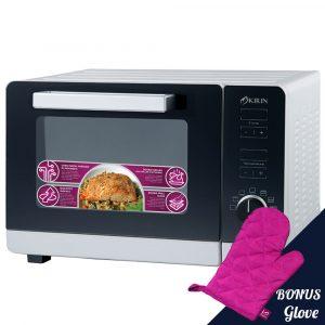 Harga Kirin Oven Digital 30 Liter - KBO 300DRA new arrival bonus glove