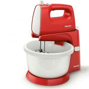 Harga Philips Stand Mixer 170 Watt 5 Speed - HR 1559 merah