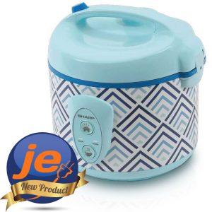Harga Sharp Rice Cooker 1.8 Liter Blue - KSN18MGBL