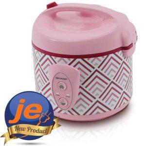 Harga Sharp Rice Cooker 1.8 Liter Pink - KSN18MGPK