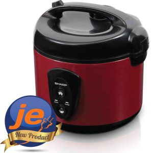 Harga Sharp Rice Cooker 1.8 Liter Red - KSN18MGRD