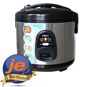 Harga Aqua Rice cooker 1.8 Liter 400 Watt 5 IN 1 - ARJHL18BSS