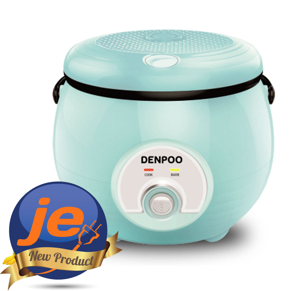 Harga Denpoo DMJ-18-SB - Rice Cooker 0.8 Liter 3in1 350 Watt new